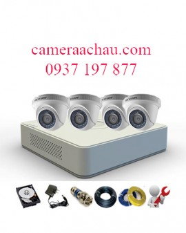 BỘ 4 CAMERA HIKVISION 1.0MP DS-2CE56COT-IR