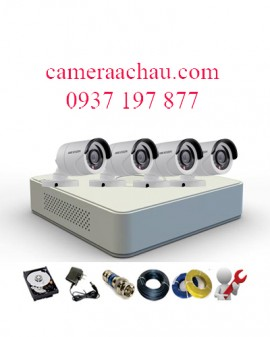 BỘ 4 CAMERA HIKVISION 2.0MP DS-2CE16DOT-IR